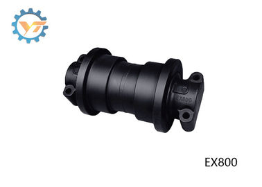 Black Color Bottom Track Rollers Replacement For EX800 HITACHI Excavator
