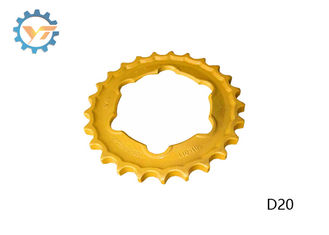 OEM Drive Sprocket Bulldozer Undercarriage Parts With 4-10 Mm HRC Depth