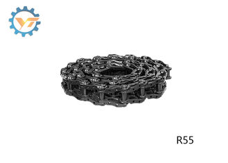 Precision Undercarriage Track Chain , R130 HYUNDAI Excavator Spare Parts supplier