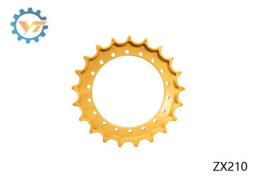 China ZX210 Yellow Excavator Drive Sprocket Rim HITACHI Undercarriage Parts supplier