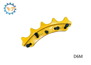 D6C Durable Drive Sprocket Bulldozer&Excavator Undercarriage Parts supplier