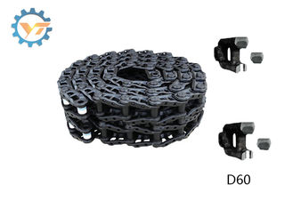 High Performance Undercarriage Track Chain , D60 Dozer Track Chains Replacement
