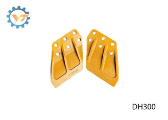 DH300 DAEWOO Excavator Bucket Side Cutters With Heat Treated supplier