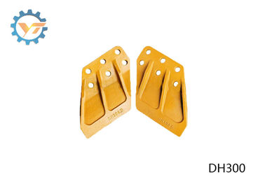 DH300 DAEWOO Excavator Bucket Side Cutters With Heat Treated And Hardened Tech