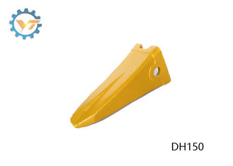 DH150 Heavy Duty Yellow Color Bucket Tooth Earthmoving Spare Parts