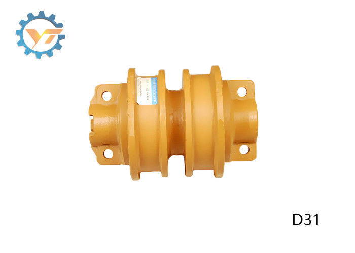 D31 Bulldozer Undercarriage Parts Flange Guided Bottom Track Rollers