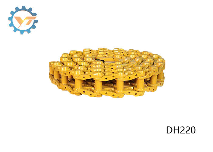 4-10 Mm HRC Depth Track Chain Link For DH220 DAEWOO Excavator Parts