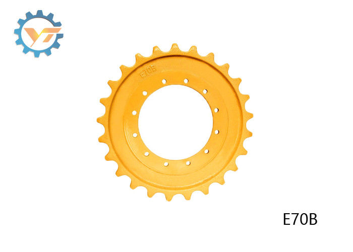 E70B Casting Drive Sprocket OEM CATERPILLAR Undercarriage Parts supplier