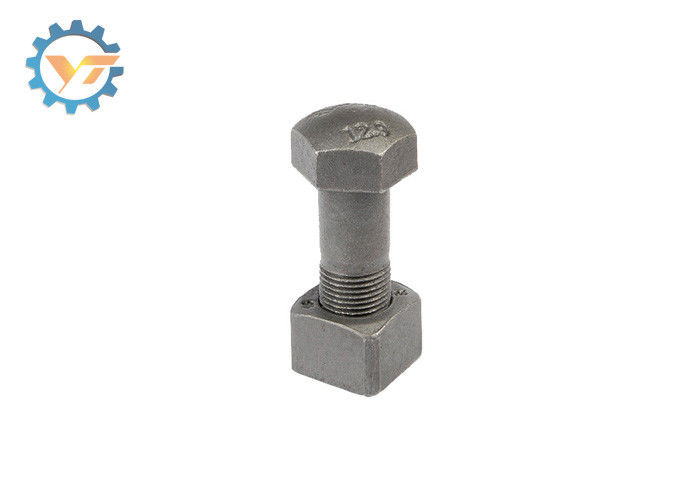 ISO9002 Standard Heavy Duty Bolts And Nuts Grade 12.9 For Track Link Assembly