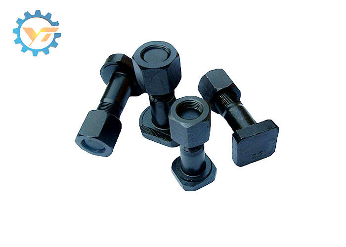 High Strength Track Bolts And Nuts M12 M14 M16 M18 M20 for Excavator