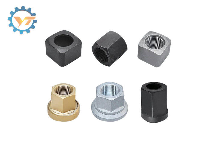 High Strength Track Bolts And Nuts 12.9 Grade Stainless Steel Nut