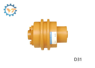China Heavy Duty Mini Bulldozer Track Rollers / Carrier Rollers Wear Resistance distributor
